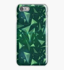 Green space map iPhone Case/Skin