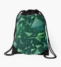 Green space map Drawstring Bag