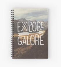 Explore Galore Spiral Notebook