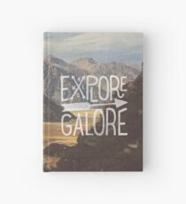 Explore Galore Hardcover Journal