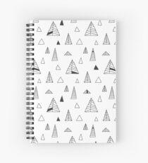 Winter Trees. Spiral Notebook