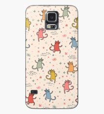 Dancing Cats. Case/Skin for Samsung Galaxy