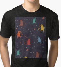 Dancing Cats. Tri-blend T-Shirt