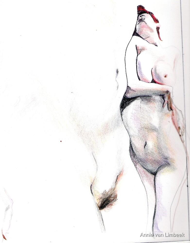Untitled (Self Second Study), 2007 by Annie van Limbeek