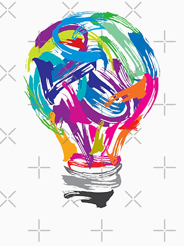 Bulb Painting by awesomeprints