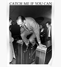 Jacques Chirac - Catch Me If You Can Poster