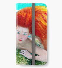 Redheaded Mermaid iPhone Wallet