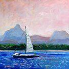 Pumicestone Passage Bribie Island Queensland by Virginia McGowan