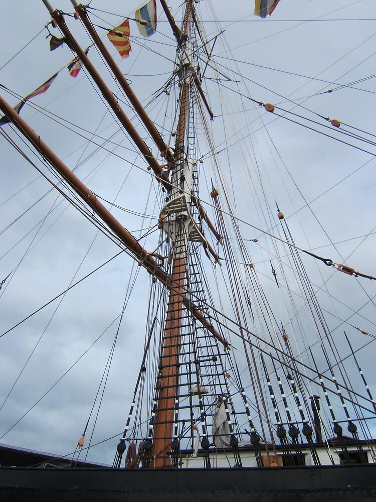 Main mast by John Witte