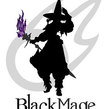Black Mage - Final Fantasy XIV by lnd310