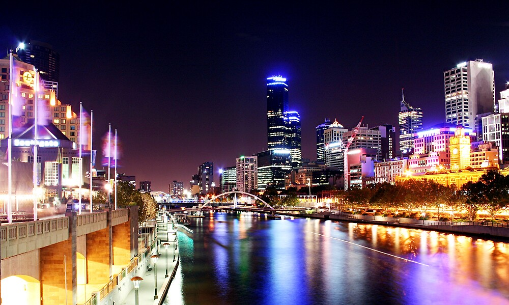 Colour of Night - Melbourne by dale73