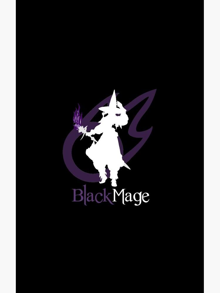 Black Mage - Final Fantasy XIV [black] by lnd310