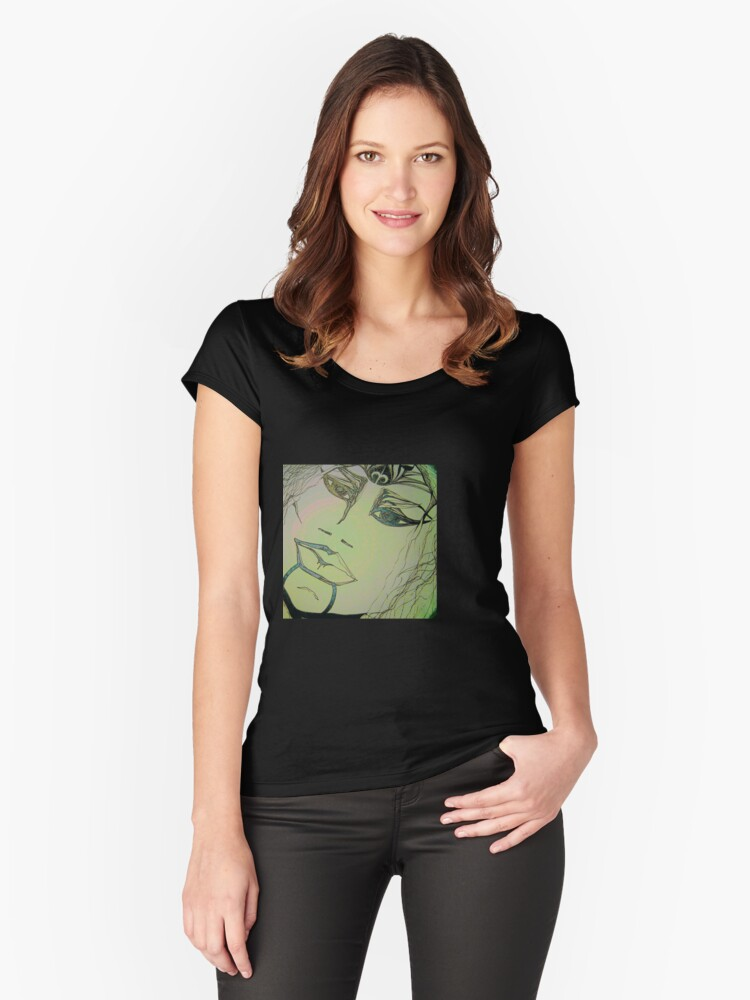 KELKIRK ST. anake (anarchy) Women's Fitted Scoop T-Shirt Front