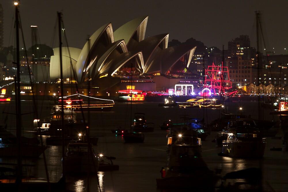 NYE Opera House by CRSPHOTO