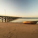Streaky Bay Jetty, Eyre Peninsula by SusanAdey