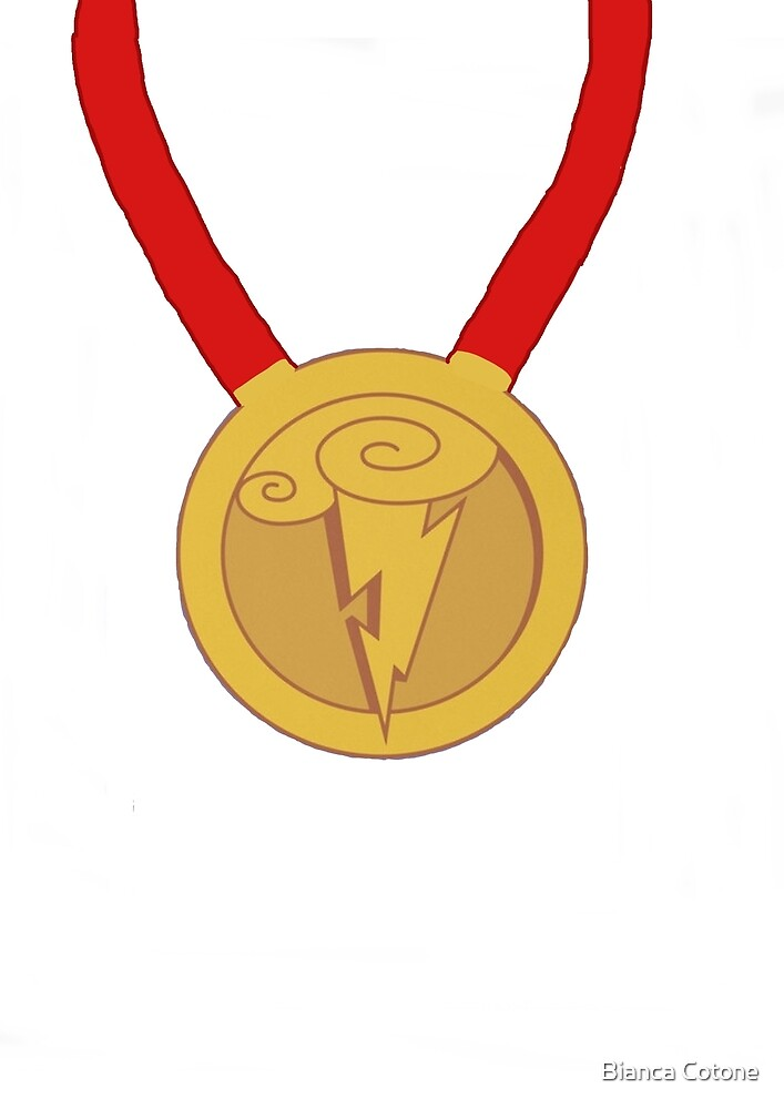 Hercules Symbol of the Gods Medal by Bianca Cotone