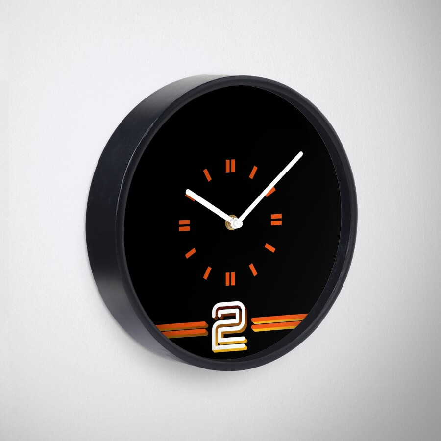 BBC2 70s Wall Clock