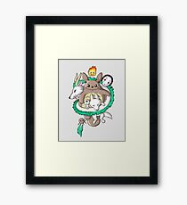 chibi Framed Print