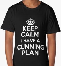 Keep Calm - I have a cunning plan Long T-Shirt