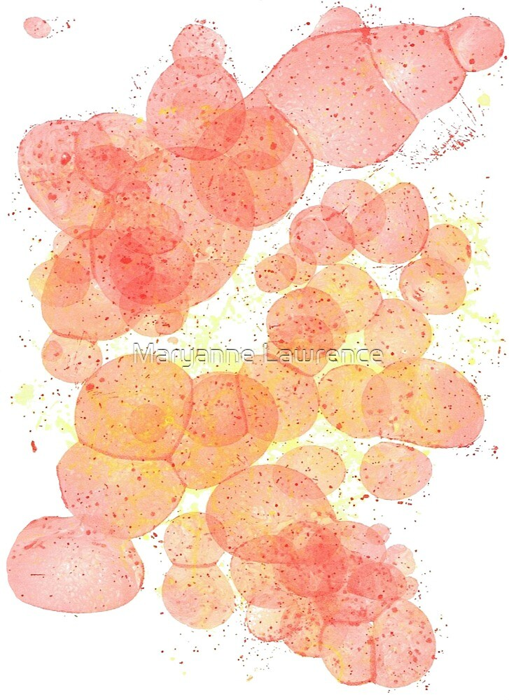 Paint Bubbles by Maryanne Lawrence