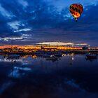 Harbour Night Flight by Ian Mitchell