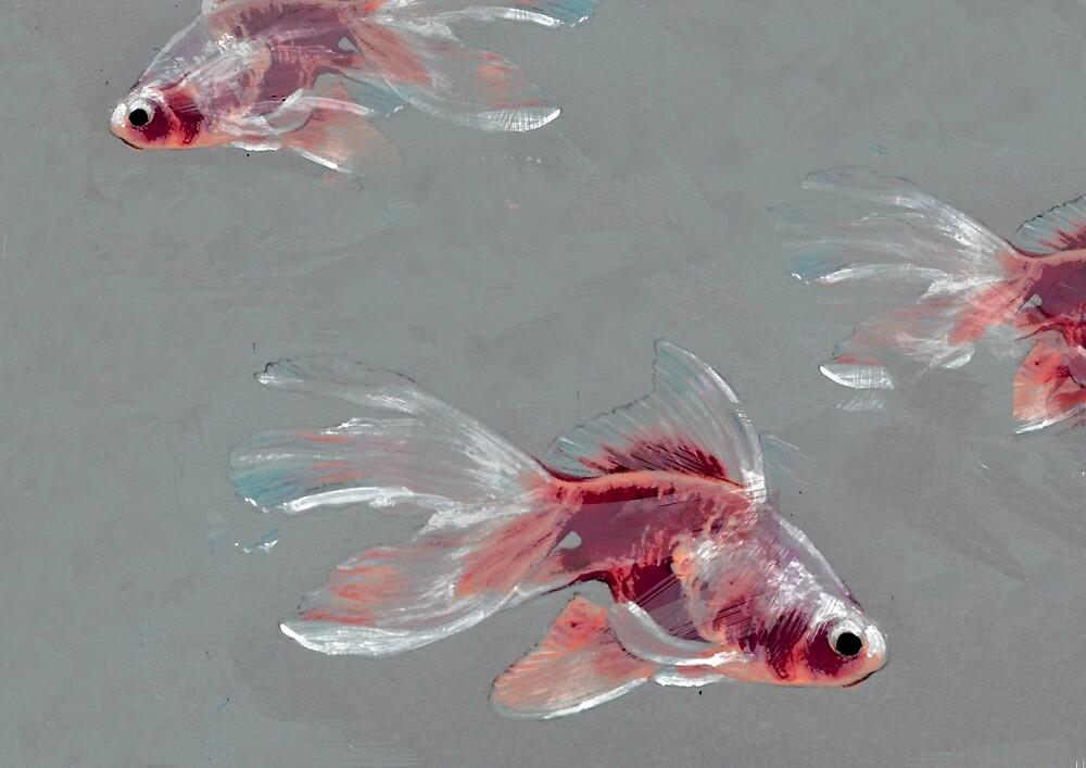 Goldfish by LenaOspinka