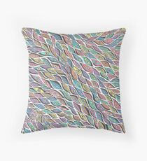 Abstract Eye Design, Colourful, Pattern Throw Pillow