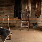 Old Montana Farmhouse by AnnDixon