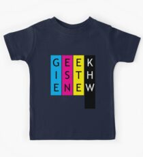 Geek is the new... Kids Tee