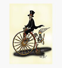 STEAMPUNK PENNY FARTHING Photographic Print