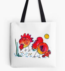 Chickens for children up to 80 years and older... Tote Bag