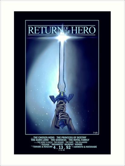 Return Of The Hero (Legend of Zelda) by mpmurphy
