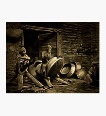 Copper Workers, Mesopotamia (modern day Iraq) Photographic Print