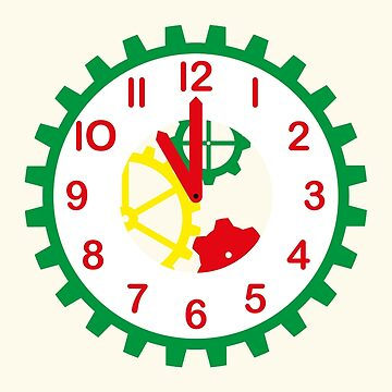NDVH Play School Clock by nikhorne