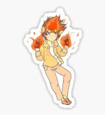 Hyper dying willing mode Tsunayoshi Sawada Sticker