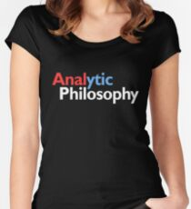 Analytic philosophy Women's Fitted Scoop T-Shirt