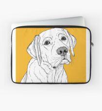 Funda para portátil Retrato de perro Labrador