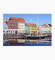 Nyhavn - Copenhagen, Denmark Photographic Print