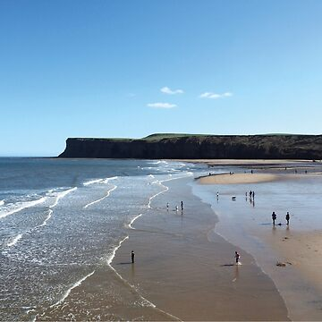 NDVH Saltburn Beach - Hunt Cliff (without text) by nikhorne