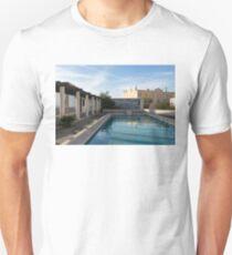 Elegant Lisbon - Miradouro de Santa Luzia Morning Reflections T-Shirt