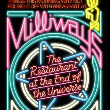 NDVH Milliways - the Restaurant at the End of the Universe by nikhorne