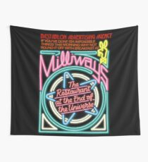 NDVH Milliways - the Restaurant at the End of the Universe Wall Tapestry