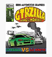 GTRZILLA R34 (1 of 2 VERSION) Photographic Print