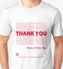 plastic bag shirt - thank you Unisex T-Shirt