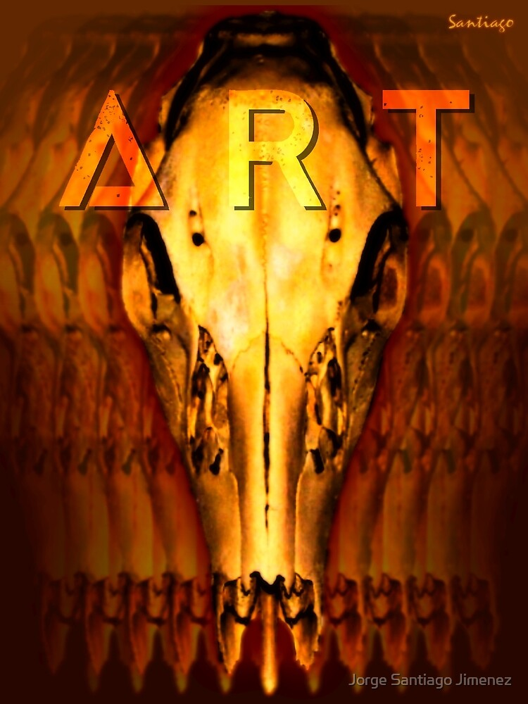 Art Magazine Cover by Jorge Santiago Jimenez
