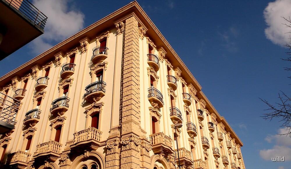 Windows in the sun by willd