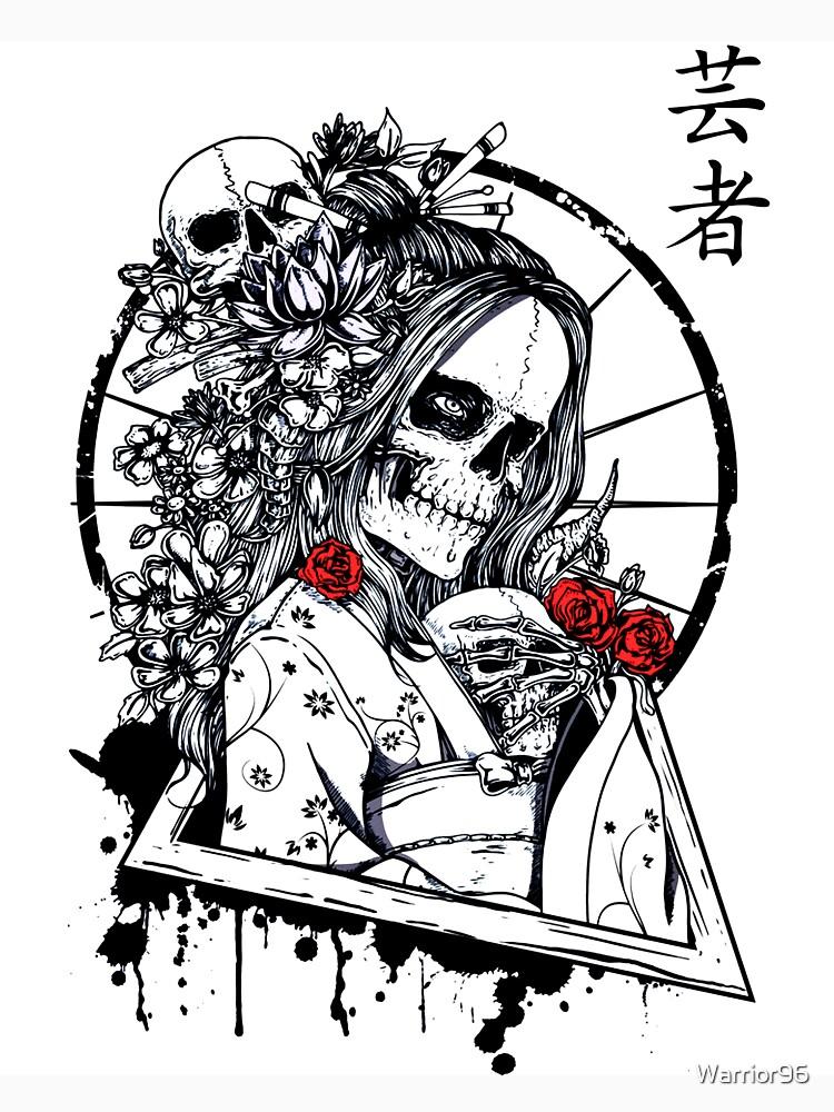 Skeleton girl by Warrior96