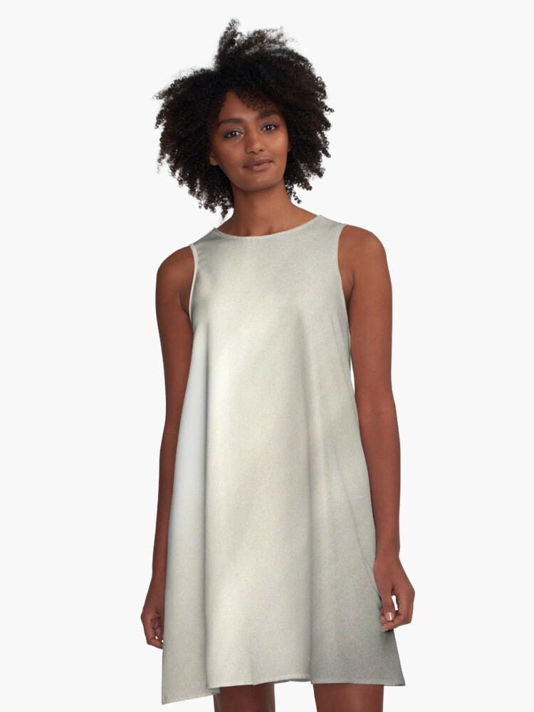 Waltz through a Snowfield A-Line Dress Front