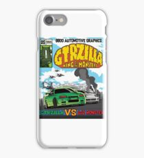 GTRZILLA R34 (2 of 2 VERSION) iPhone Case/Skin