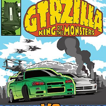 GTRZILLA R34 (2 of 2 VERSION) by 8800ag